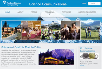 Banff Science Communications