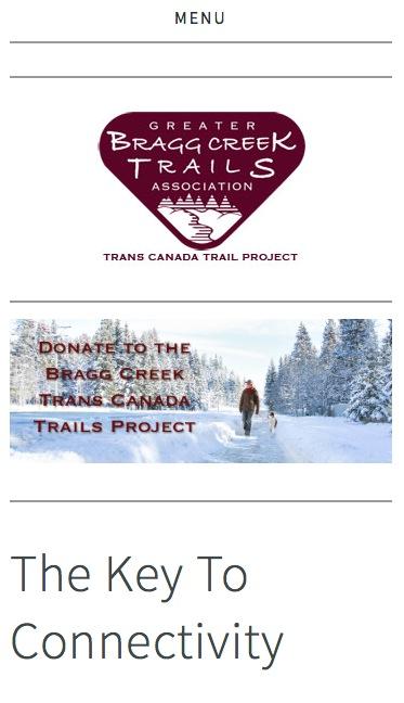 TCT Trail Bragg Creek Mobile